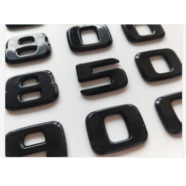 Фото блестящая черная эмблемы для багажника 450 500 550 580 600 650