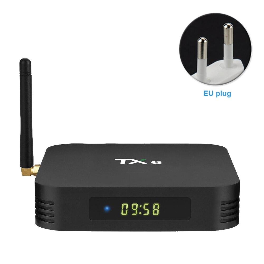 TX6 Audio pour Android 9.0 TV Box avec télécommande maison lecteur réseau intelligent film haute définition Bluetooth installation facile