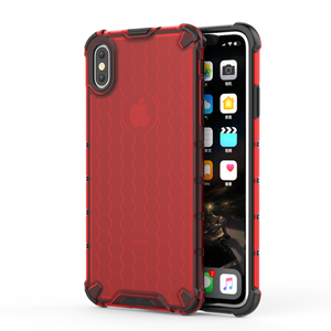 Image 3 - Honeycomb Rugged Hybrid Armor Case For iPhone 11 Pro XS Max XR XS X 8 7 6s 6 Plus Cover Transparent Shell  Accessories (XS0514)