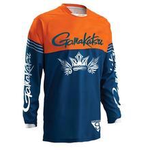 2019 New Summer Anti-uv Sun Protection Fishing shirt Sweatshirt Breathable Jersey Quick Dry Long-sleeve Clothing
