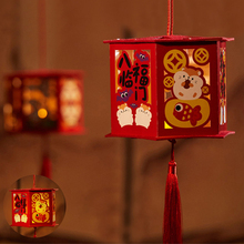 Felt Diy candle Lanterns Decorations New Year Ornaments Kids Toys Xmas Chinese Style Festival Lucky Hanging Door Children Gift l marenzio madrigals for 5 voices