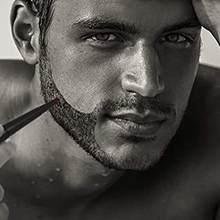 Visage hommes Barbe Barba moustaches moustache Barbe croissance des cheveux améliorer Style Style forme toilettage stylo à huile