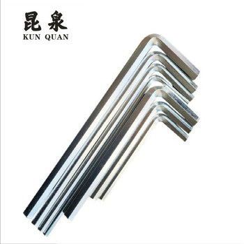 Manufacturers sell directly straight hexagon tool high quality wrench / apanner 100pcs in a package