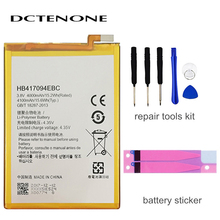 DCTENONE Phone battery HB417094EBC Rechargeable Li-ion phone battery For Huawei Ascend Mate 7 MT7 TL00 TL10 UL00 CL00 4100mAh недорого