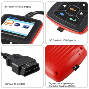 Image 5 - Newest Creator C502 Car OBD 2 Diagnostic Tool Full Systems Auto Diagnostic Scanner Professional For Mercedes Benz OBD2 Scanner