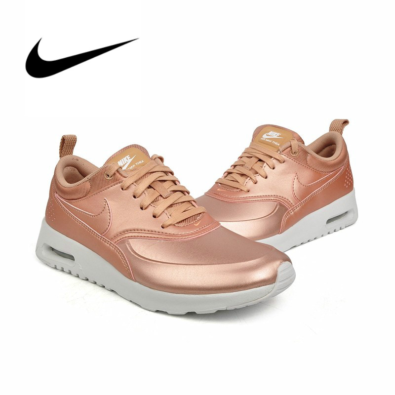 US $111.42 |Original authentic NIKE W NIKE AIR MAX THEA SE women's running shoes outdoor comfortable breathable sports shoes 861674 002 in Running