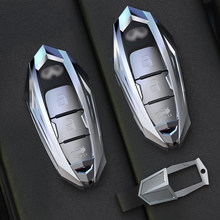 De aleación de Zinc de carcasa de llave de mando a distancia de coche para infiniti FX35 FX37 FX50 G25 G35 G37 QX60 JX35 M35 M37 M45 Q70 QX50 QX70 accesorios de coche