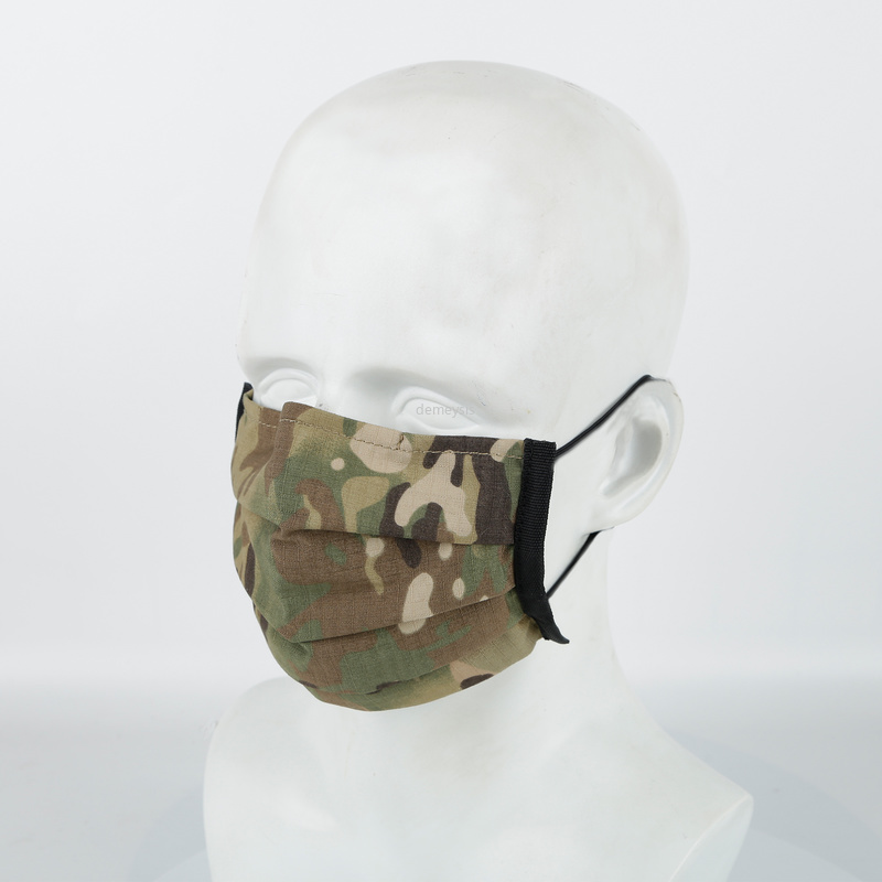 Multicam Military Tactical Half Face Mask Anti-dust Shooting Hunting Mask Washable Army Airsoft Sports Disposable Masks Cover