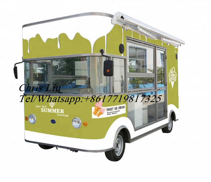 Ce Customized Fast Food Truck Mobile Food Truck/ice Cream Cart/hot Dog Mobile Food Cart