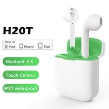Bluetooth Earphone Touch Control Wireless Headphones IPX7 Wa