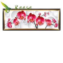Full Diamond Painting New Flower Series Orchid Diy Embroidery For The Bedroom 2 Size