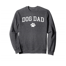 Толстовка с принтом собаки, папы и забавных букв для мужчин, повседневные топы с длинными рукавами, Мужская осенняя одежда
