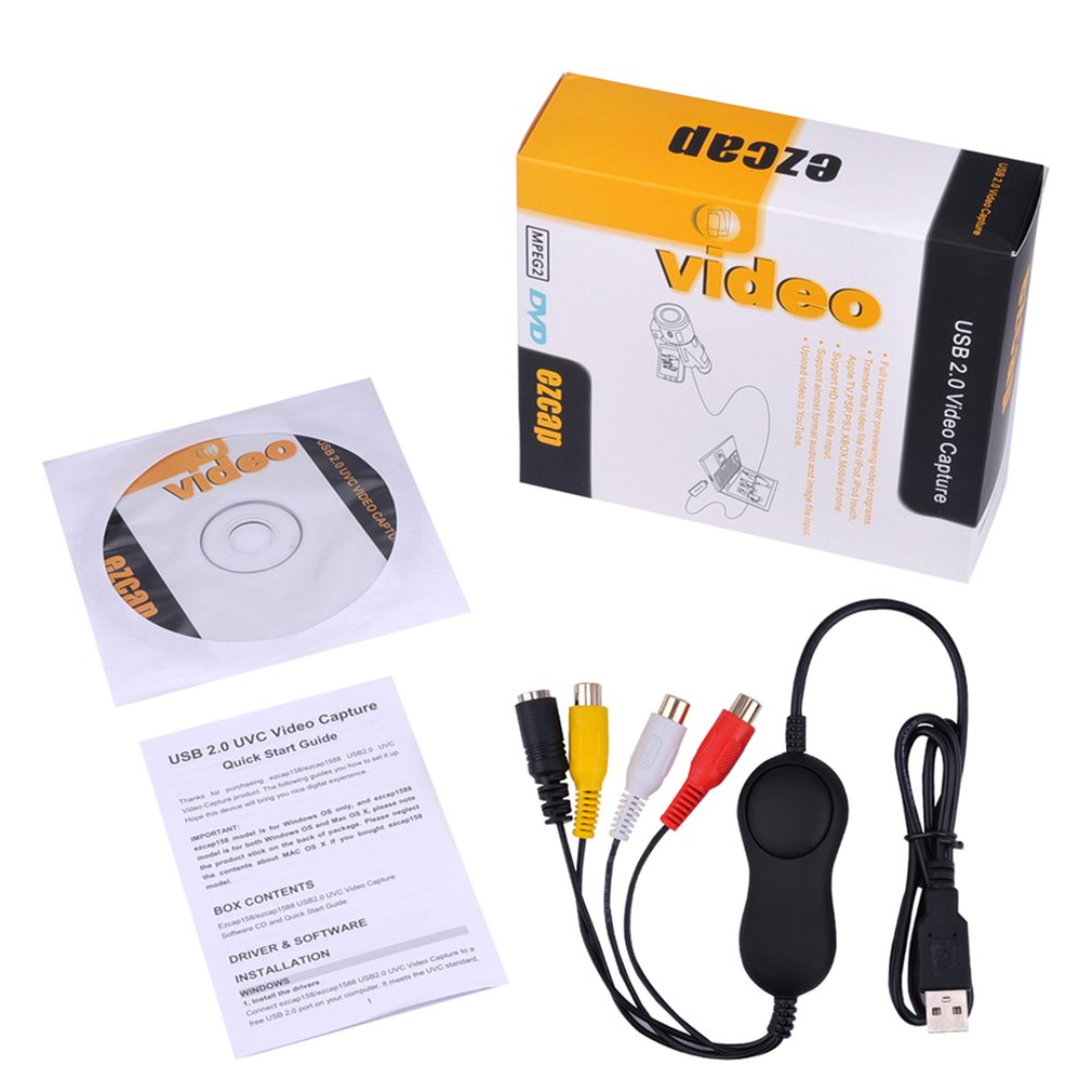 USB2.0 HDMI Video Capture HD 1080P Recorder Playback Card With Remote Control For Android Win Linux OS XIOS