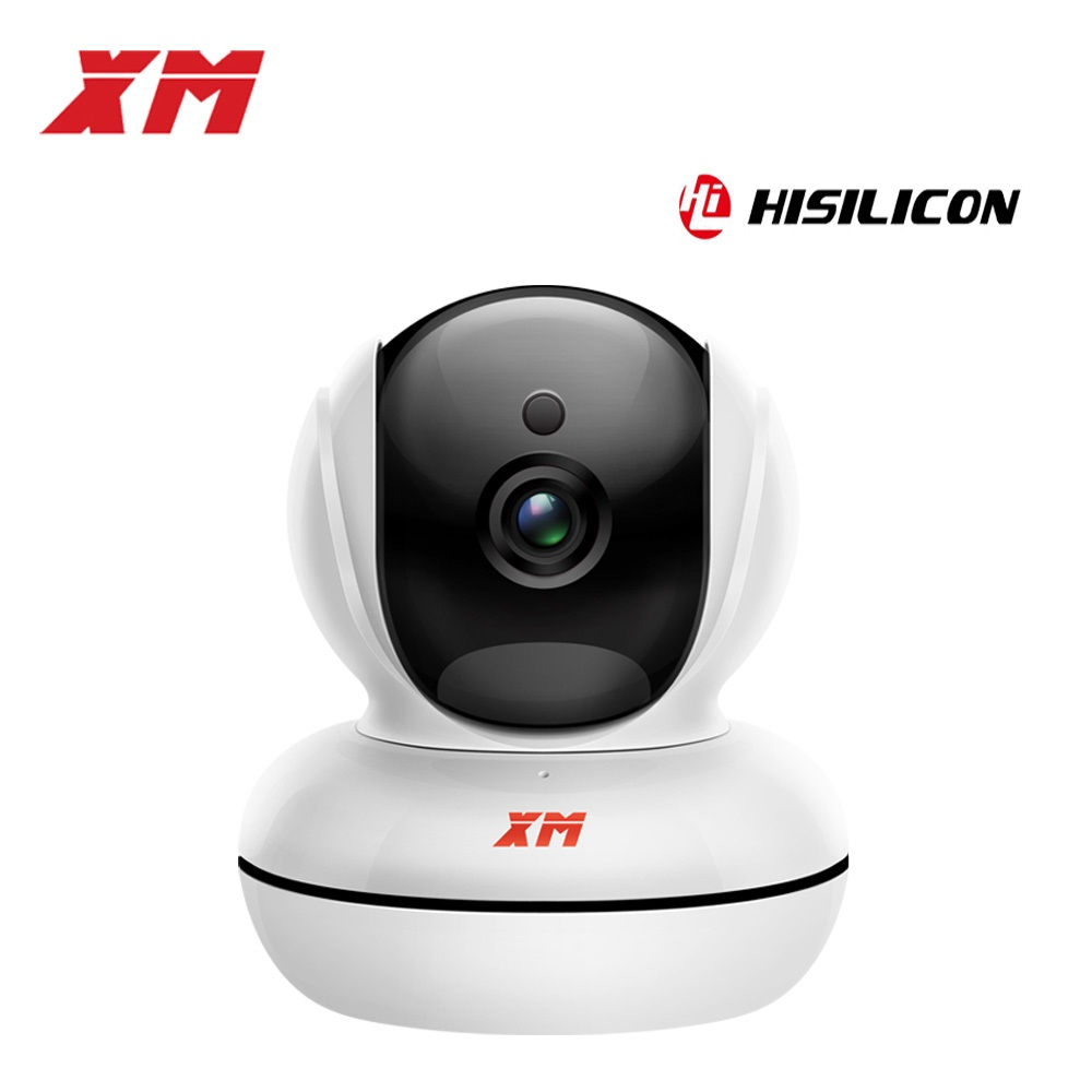 XM Security Camera- Wireless Camera IP Camera with Night Vision/ Two-way Audio 2.4Ghz Wifi Indoor Home Dome Camera for Pet Baby