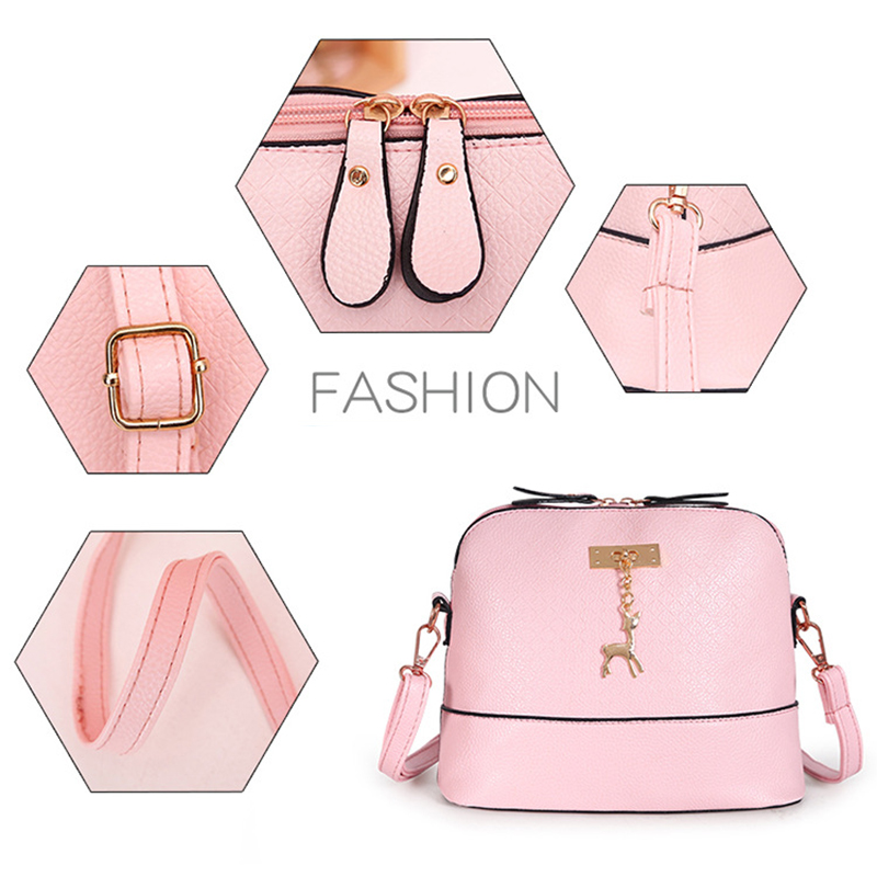 Driga HOT SALE!2020 Women Messenger Bags Fashion Mini Bag With Deer Toy Shell Shape Bag Women Shoulder Bags Handbag 4