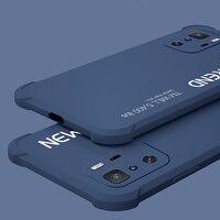 Funda protectora de silicona suave para Xiaomi Redmi Note 10 Pro, Airbag a prueba de golpes, para Xiaomi redmi note 9, 9T, 8 Pro