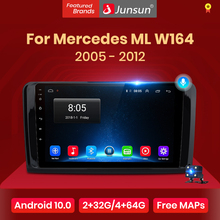 Multimedia DVD Car-Radio Junsun V1 Ml500x164 GL320 ML350 Mercedes-Ml W164 Android-10