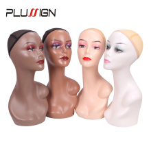 Hat Mannequin Wig Head-Head Displaying Plussign Jewlery Sun-Glasses Circumference Female