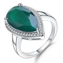 Женское кольцо из серебра 100% пробы