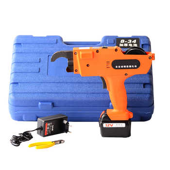 12V Automatic Rebar Tying Machine Rebar tier Binding Machine Wire Knoting Cordless Rechargeable Lithium Battery Electric Tool - Category 🛒 Tools