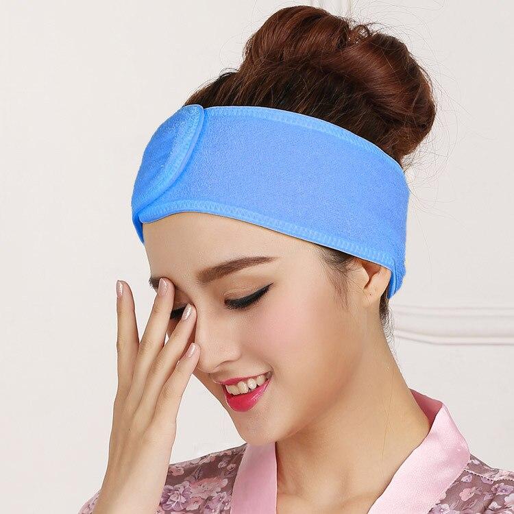 Face Wash Hair Bands Makeup With The Hair Band Women's Headwear Versatile Velcro Facemask Hair Beauty Salon Headscarf