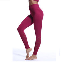 Бесшовные Леггинсы shark штаны для йоги с высокой талией женские