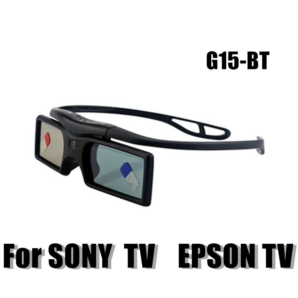 G15-bt active shutter Bluetooth <font><b>3D</b></font> <font><b>TV</b></font> glasses tw5200 tw5810 tw6510 for <font><b>Samsung</b></font> Sony KD-55X8505C <font><b>3D</b></font> <font><b>TV</b></font> and epson projector image