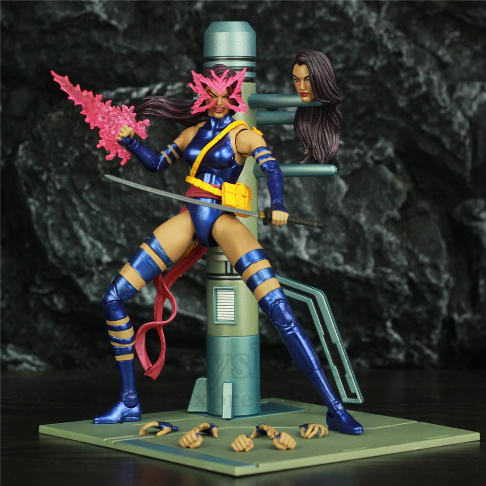 Original Marvel Select X Men Psylocke 7