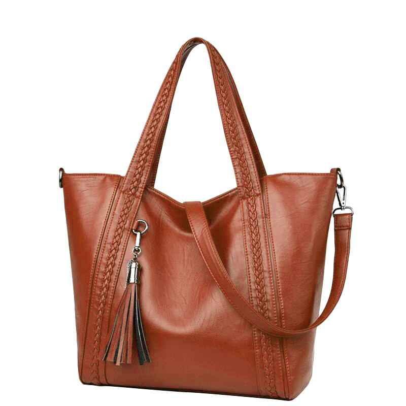 Большие женские сумки-мессенджеры через плечо из мягкой искусственной кожи высокого качества брендовые дизайнерские модные женские сумки большие сумки