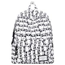 100% Brand New Backpack Women Shoulder Bag Casual Backpack High Quality Back To Schoolbag for Teenage Girl Bagpack Mochila Panda 2016 panda backpack high school back packs schoolbag korean version of the cartoon panda casual shoulder bag rugtas sac a dos