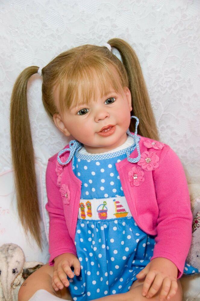 28 polegada kit de boneca renascer enorme bebê criança boneca inacabado peças reborn kit katie