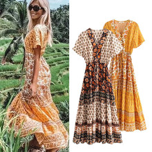Cover Ups Dress Beach Women's Outings 2020 Swimming Suit For Women Dresses New Summer Color String Skirt Linen Print Pareo