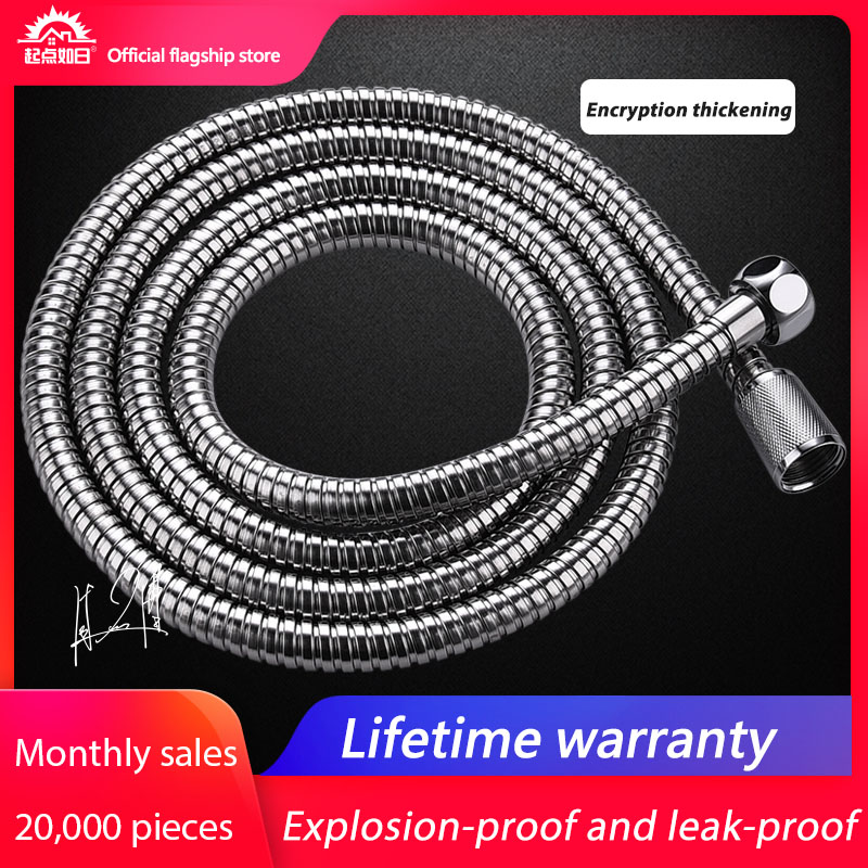 Home 2019 Bathroom Plumbing Hoses Bath Water Pipe Fittings 1.5 M / 2 M Stainless Steel Shower Head Shower Hose Home Univers