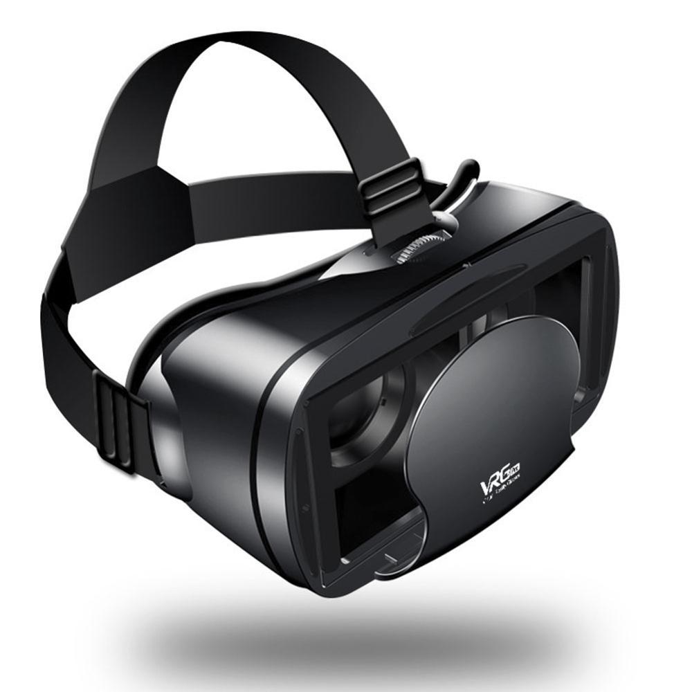 Vidros 3d espertos novos da realidade virtual vr dos vidros do pro vrg com fone de ouvido para o iphone esperto do andróide de 5.0-7.0 polegadas
