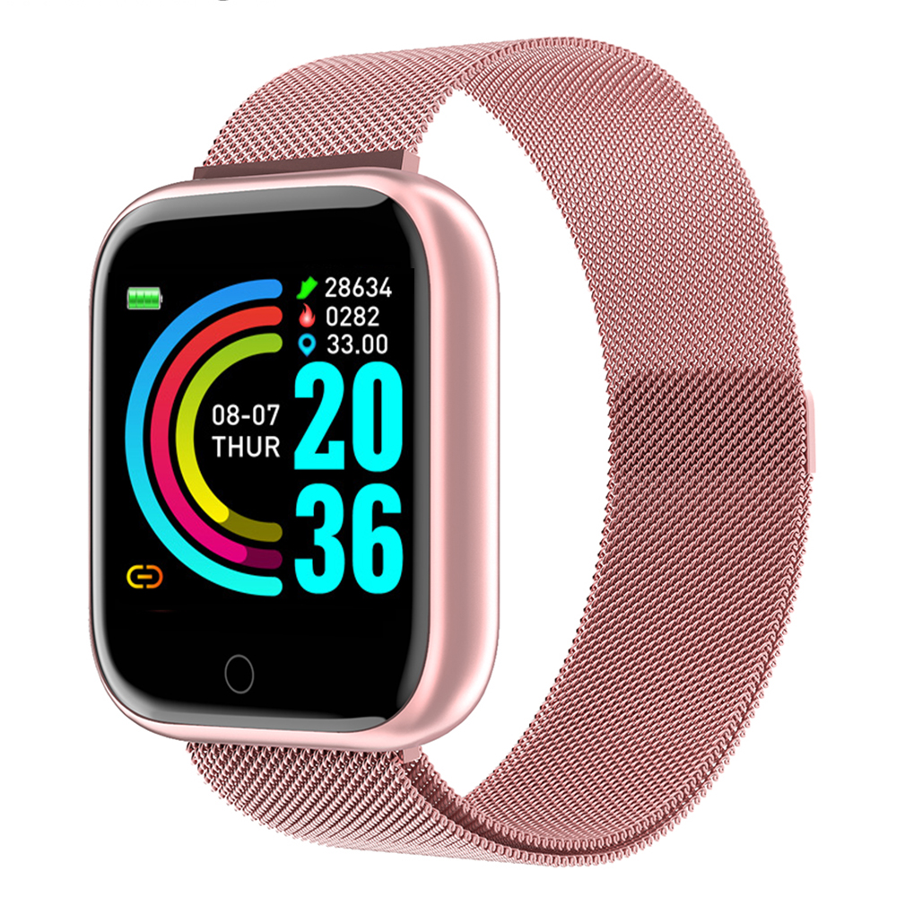 2020 Smart Watch Heart Rate Blood Pressure Sleep Monitoring Band Waterproof Sports Smartwatch Fitness Step For IOS Android Phone