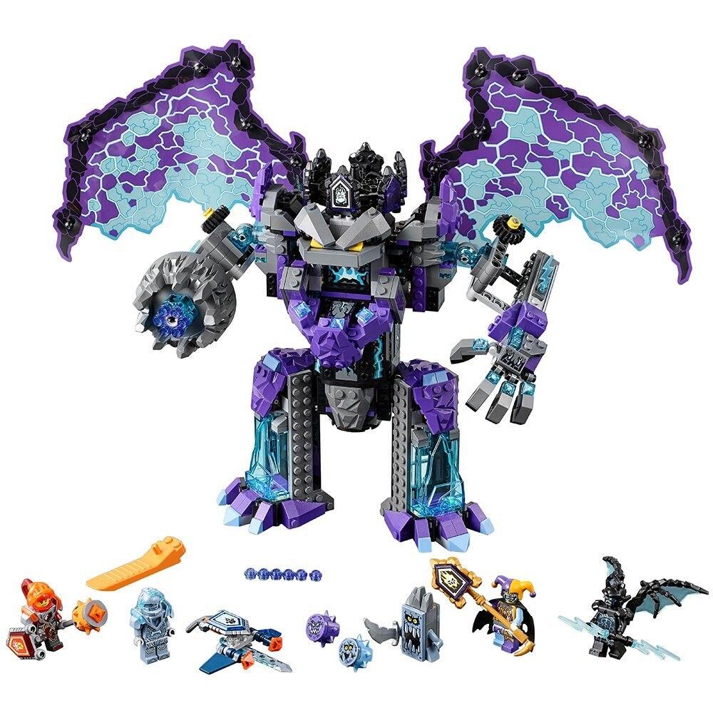 10705 Nexo chevaliers le colosse de pierre de Destruction ultime Compatible avec jeu de blocs ing jouet de construction Legoinglys Star Wars