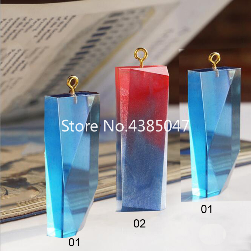 Liquid Silicone DIY Necklace Jewelry Mold Pendants Crystal Scale Jewelry Resin Molds For Jewelry Making Tool