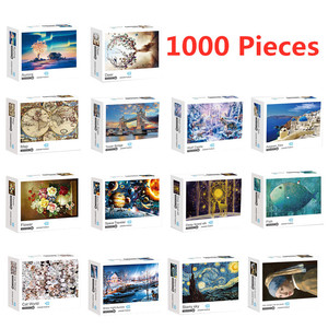 NEW Jigsaw Puzzles 1000 Pieces Assembling Pictures Family Game Hot Toys Educational Gift for Adults Children With Box