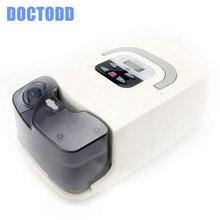 جهاز تنفس CPAP قابل للنقل من دوكتود جي CPAP لمكافحة الشخير توقف التنفس أثناء النوم أوساس قناع الأنف مع غطاء الرأس كيس أنبوب دليل المستخدم