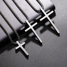 Титановое ожерелье из нержавеющей стали простое классическое