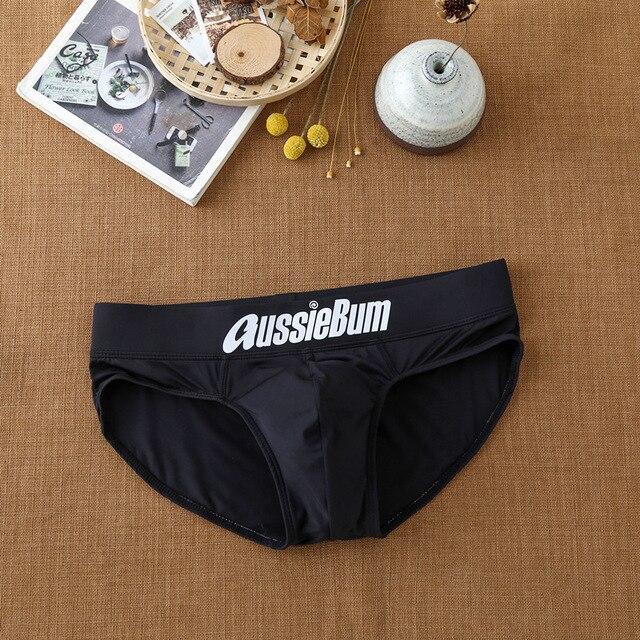 Men's briefs milk silk low waist elastic bag close-fitting comfort aussiebum 6