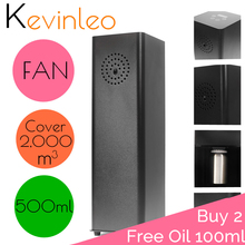 Office Scent Machine fragrance Unit Waterless 2,000m3 Coveragea Area 500ml Cartridge For Office Hotel Home Air Purifier crearoma best selling air scent systems for small area