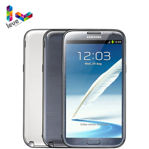 Samsung Galaxy Note II N7100 разблокирован мобильный телефон 2 Гб оперативной памяти 16 Гб ROM Quad Core 5,5 ''8MP 3G WCDMA Оригинальной ОС Android смартфон