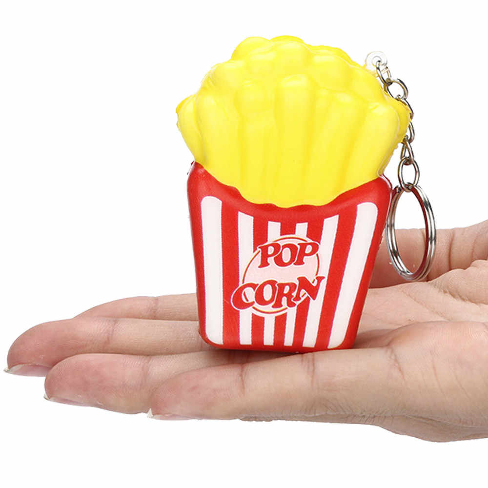 Juguetes de Relax para niños crema de patatas fritas perfumada 6 segundos juguete de aumento lento squishies suave perfumado alivio de estrés juguetes 2019