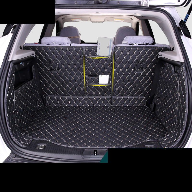 Lsrtw2017 Leather Car Trunk Mat Cargo Liner For Opel Mokka X 2012 2013 2014 2015 2016 2017 2018 2019 Vauxhall Accessories Carpet
