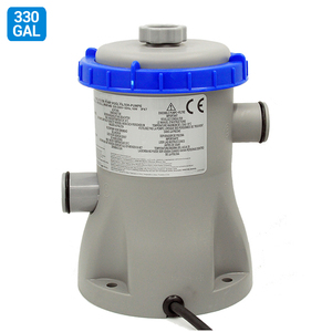 330GAL Water Pump Filter for Home Swimming Pool Cycling Filtration 58381(China)