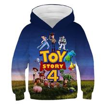 26 Style Fashion Toy Story 4 Anime Periphery Action Figure Hoodie 3D Print Sweatshirt Cool Man Game Hoodie Toys For Children(China)