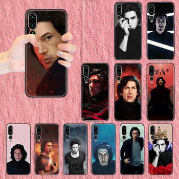 Adam Driver Phone case For Huawei P Mate P10 P20 P30 P40 10 20 Smart Z Pro Lite 2019 black luxury coque trend back fashion Etui image
