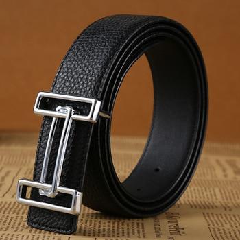 2020 High Quality Luxury Genuine Leather Belt For Men Women H Belt For Pant 2