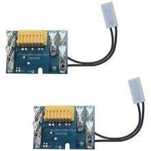 Ztoma Protecci/ón Tabla Recambio para Makita BL1830 BL1840 BL1850 LXT400 18V Bater/ías Chip Circuito PCB